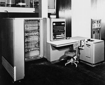 IBM introduces the first commercial computer