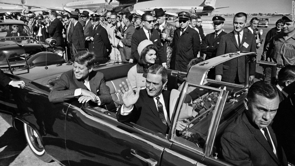 President Kennedy is assassinated on Nov. 22