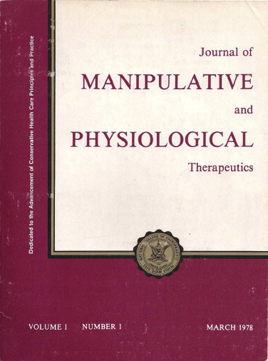 The Journal of Manipulative and Physiological Therapeutics becomes the first (and still only) chiropractic periodical to be indexed by the National Library of Medicine in Index Medicus.