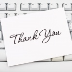 The importance of writing great thank you letters