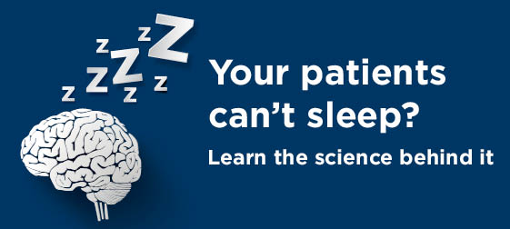 Better sleep for your patients if they can't sleep
