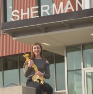 A current Sherman College student