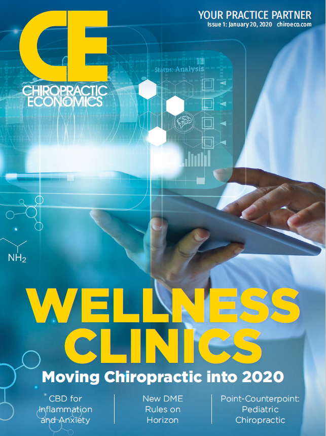 Chiropractic Economics Vol. 66, No. 1, January, 2020