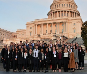 ACA conference attendees visiting Capitol Hill