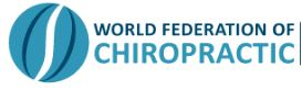 world federation of chiropractic logo