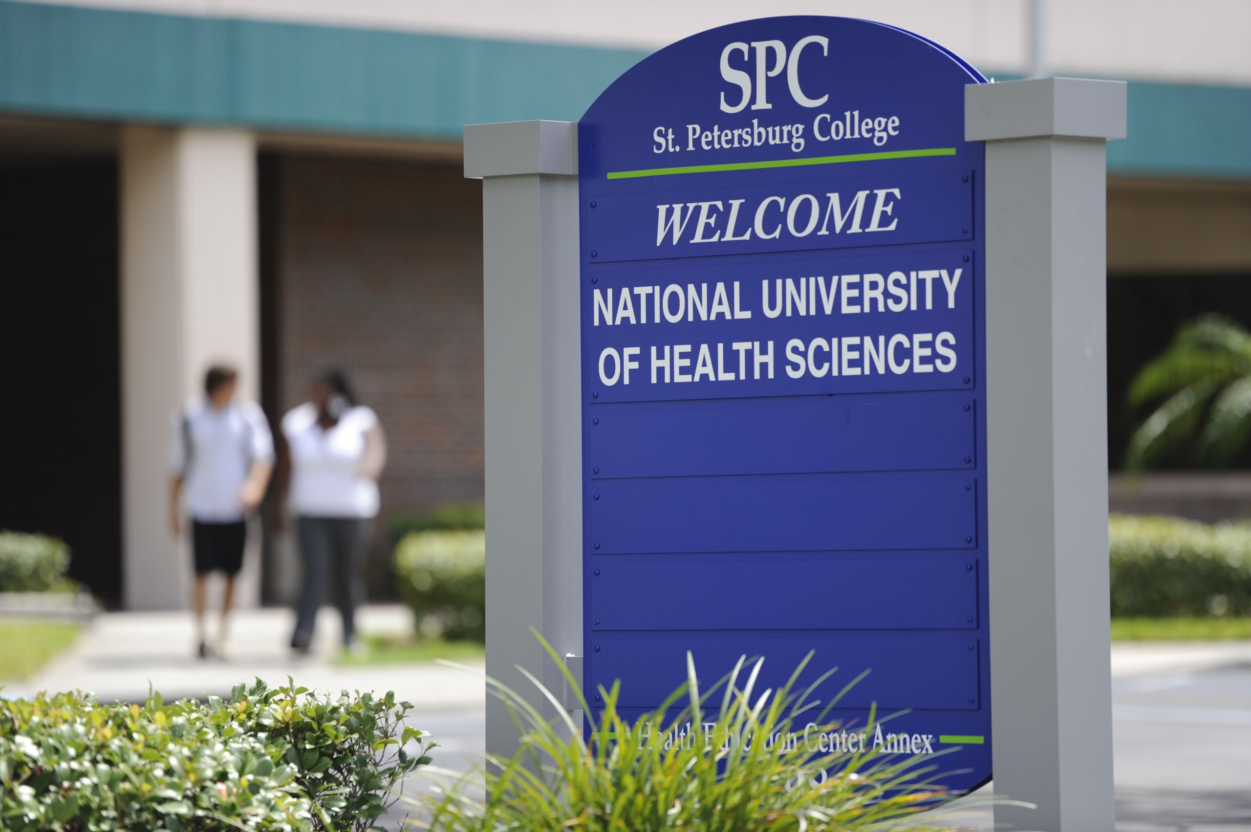 National University of Health Sciences sign