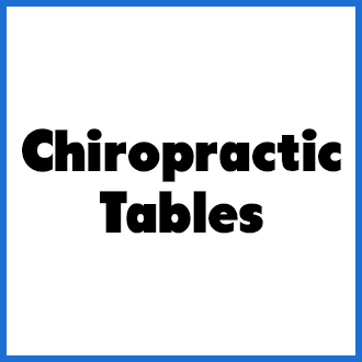 Chiropractic Tables