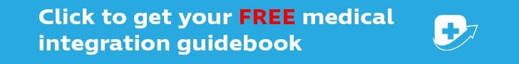 click to get your free medical integration guidebook