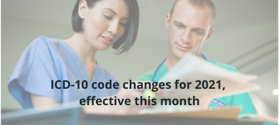 Icd-10 Code Changes