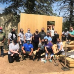 NYCC student volunteers help build homes with Habitat for Humanity