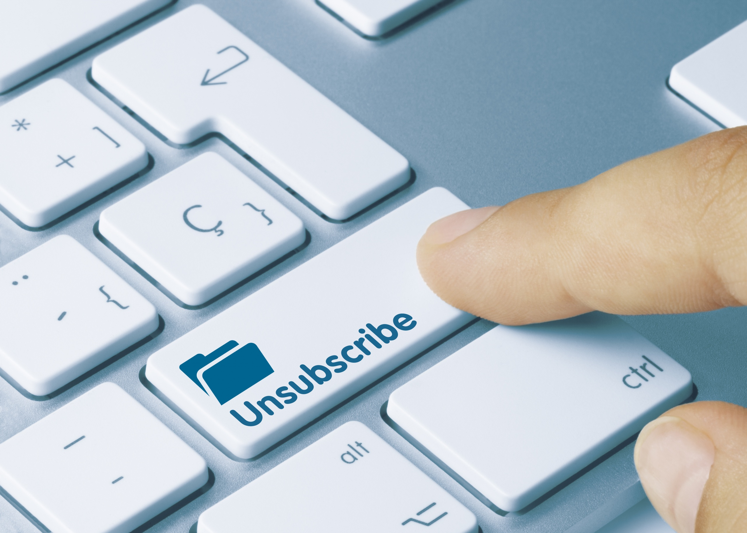 Unsubscribes