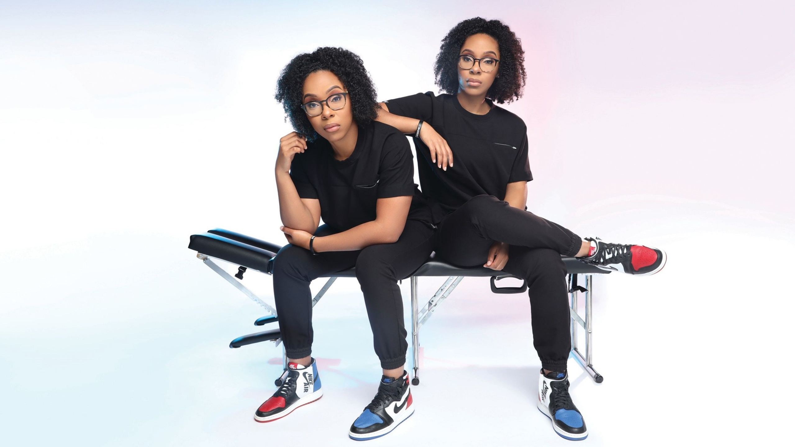 The Harris twins are ready to 'combine our love of food, chiropractic, exercise and business' while educating on the importance of diversity