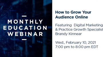 how to grow your audience online webinar