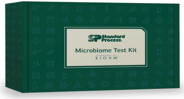 The Standard Process Microbiome Test Kit is a two-part assessment of a patient's gut microbiome that helps patients...