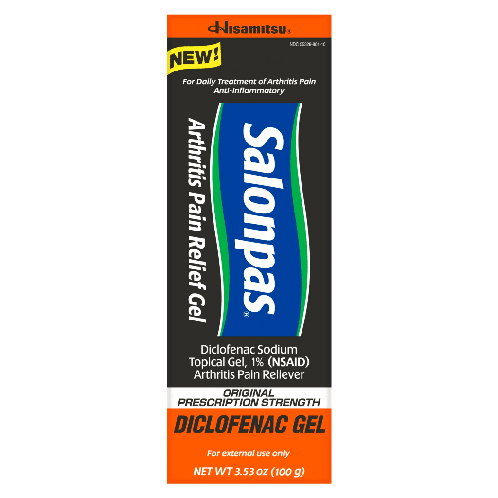 Salonpas® has announced the launch of Salonpas® Arthritis Pain Relief Gel, which features the most-prescribed topical pain medicine clinically proven to relieve arthritis pain in major joints.
