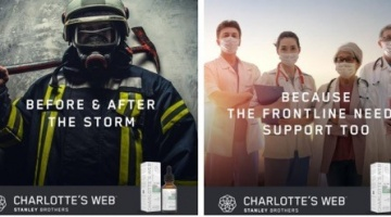 Charlotte's Web, Inc., announced the launch of new Charlotte's Web™ THC-Free† 25mg CBD Oil Tinctures in 10 or 30 milliliter sizes.