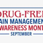Share September as Drug-free Pain Management Awareness Month with your patients