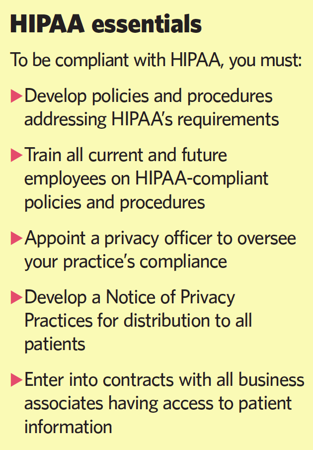 CE07_Feature_Sidebar2_HIPAA essentials