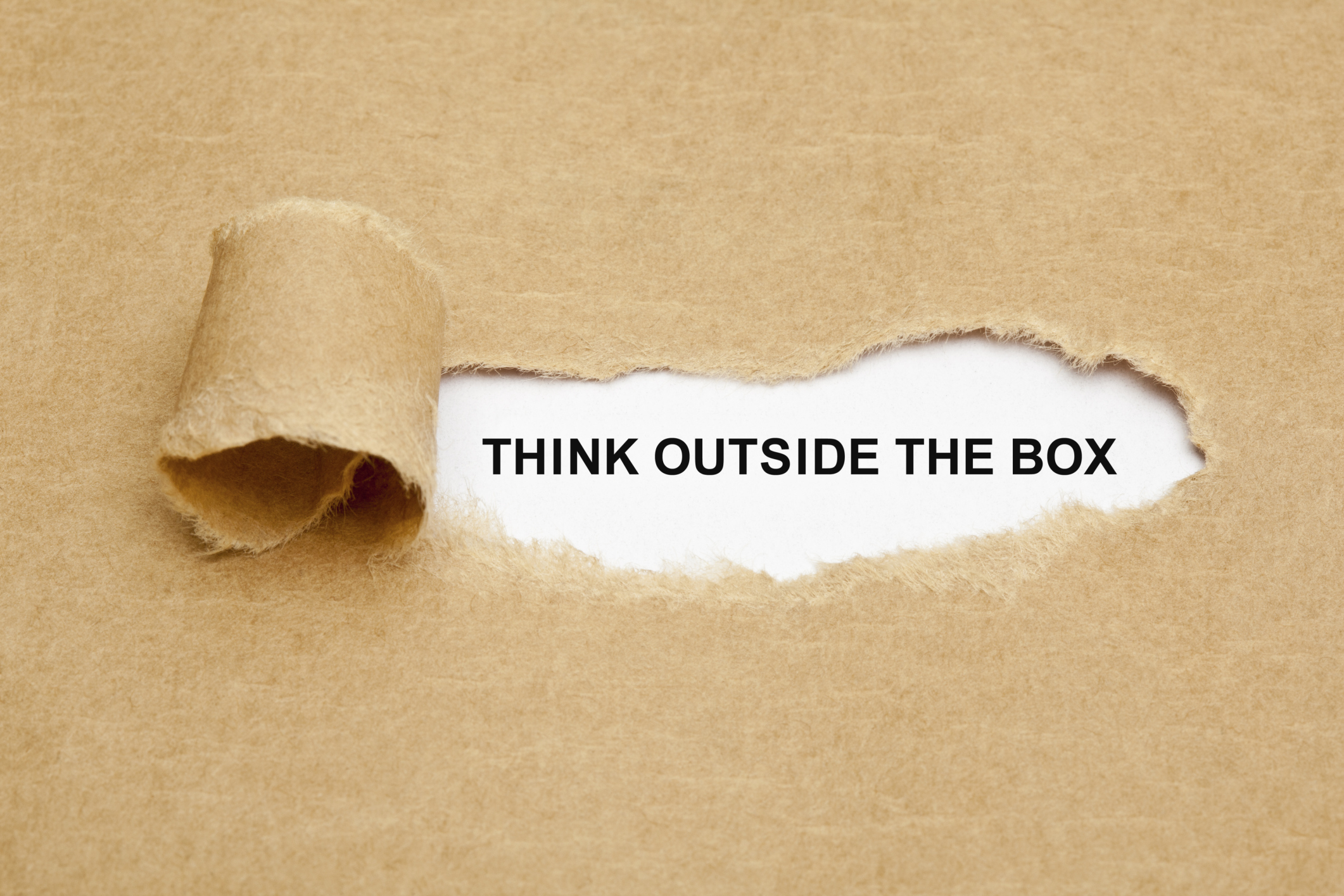 Think outside of the box