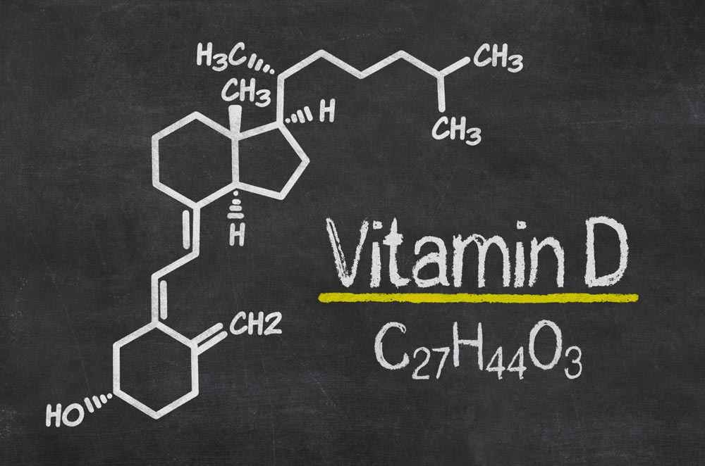 discovery of vitamin D, basic molecule drawing