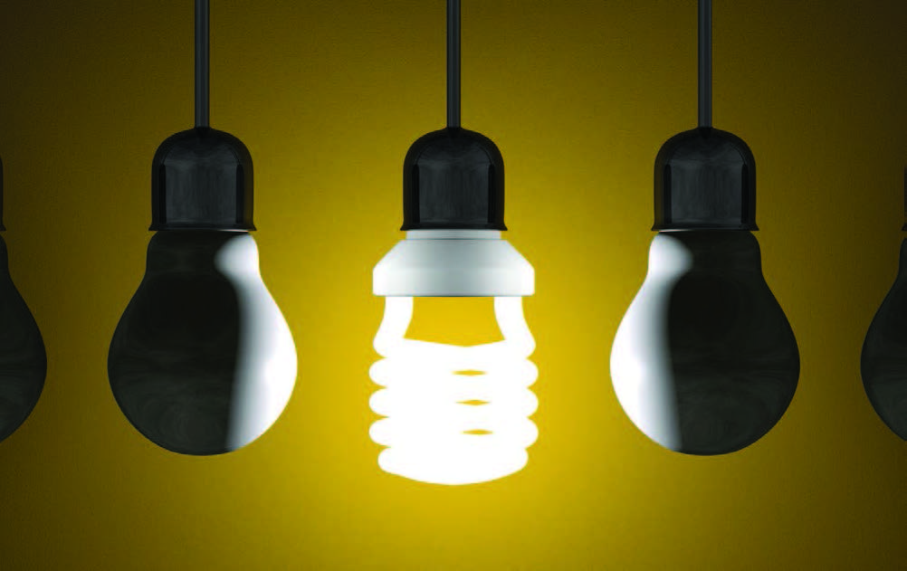 bright lightbulb among dull ones, differentiate your practice